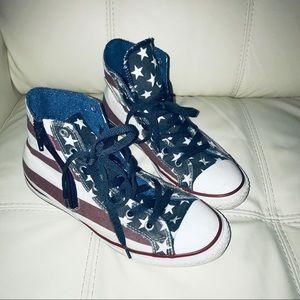 Converse American Flag High Top Sneakers